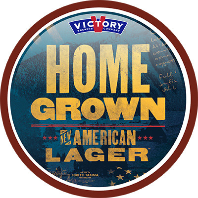 Victory Home Grown Lager Logo